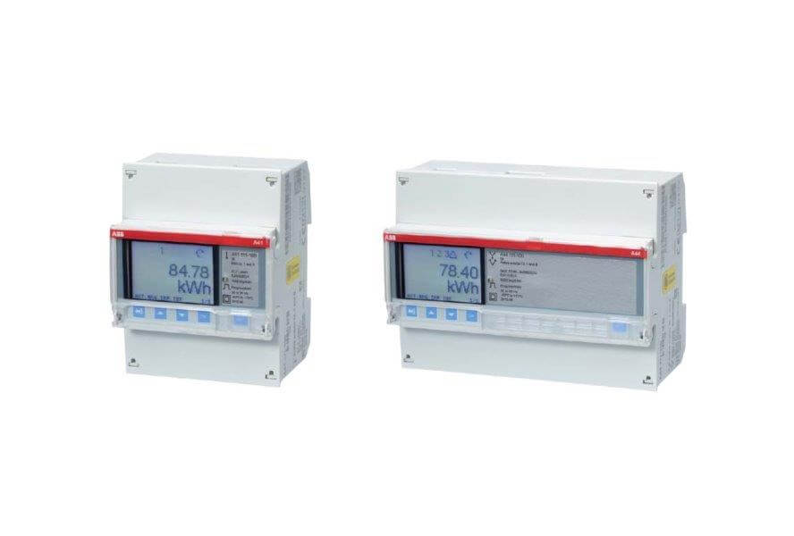 EQ meters in Steel version from ABB