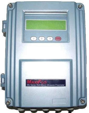 Wall-Mount Ultrasonic Flow Meter Model: MU-WA-CM