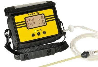 PORTABLE MULTIGAS DETECTOR- TRAK-IT IIIA